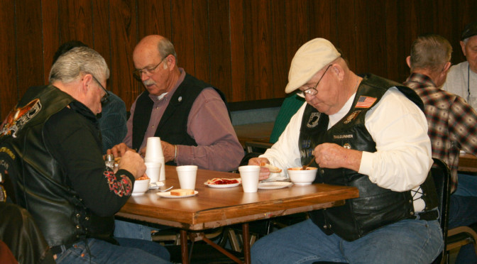 Soup Supper Benefits Area Veterans